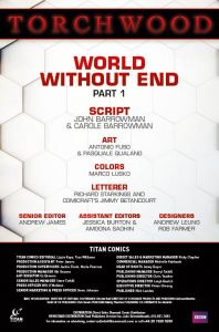 Torchwood 1 Credits